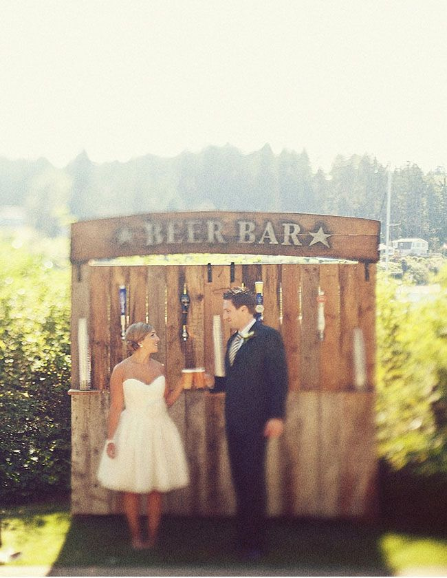 Beer Bar for Your Hudson Valley Rustic Wedding | Jimmy ...
